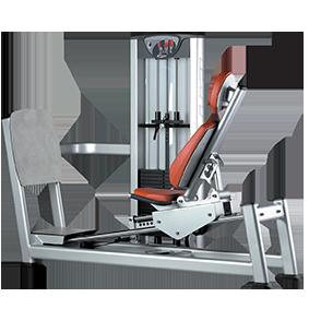 Seated leg press X050