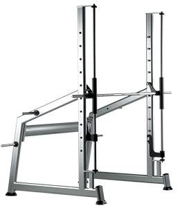 Multipower con barra templada para discos olímpicos X350ETI