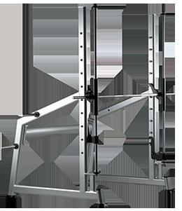 Multipower con barra cromada para discos olímpicos X350EI