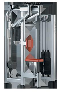 Deltoides posterior/Contractor pectoral X410