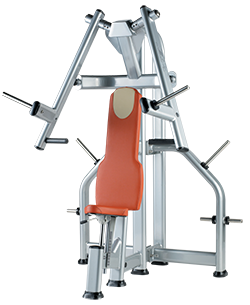 Setaed chest press for olympic bar (plate load) XDC075I